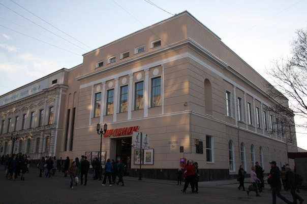 Отреставрированный фасад Орлёнка