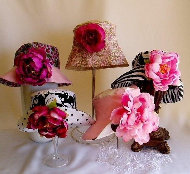 Шьем летние шляпки. Выкройки. (5 фото)