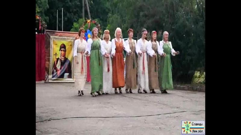 Праздничный концерт в д Загривье Видео В Глухова