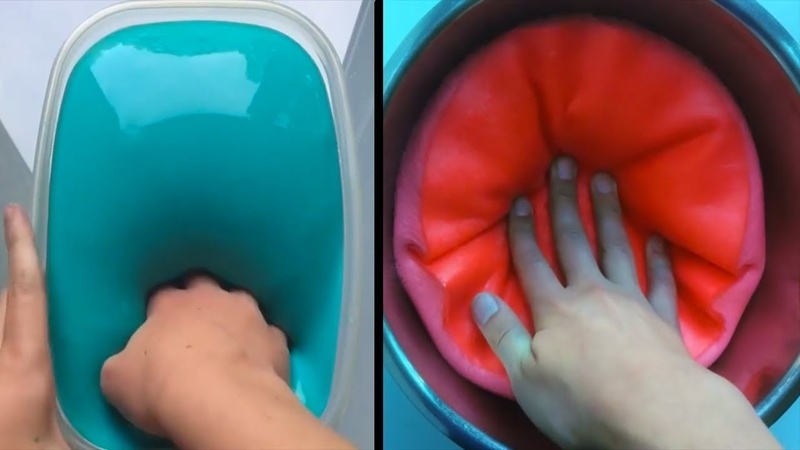 Dünyanın En Rahatlatıcı Slime Videoları 105
