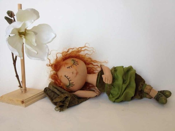 Кукла эльф своими руками 52