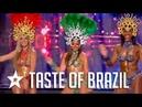 Sexy Samba Dancers Audition On France's Got Talent Got Talent Global