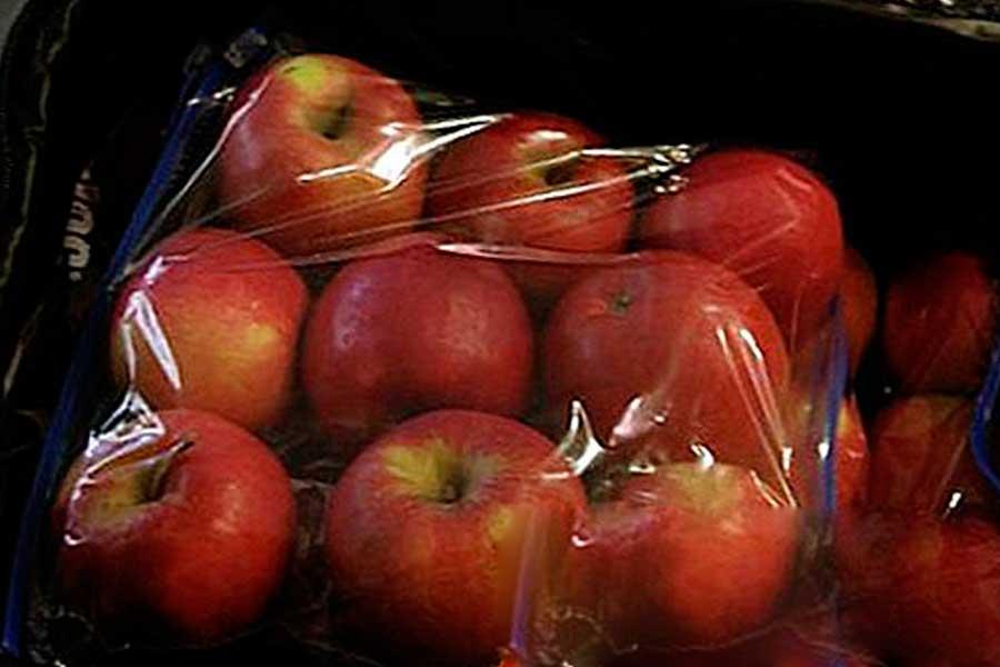 Можно хранить яблоки в полиэтиленовых пакетах