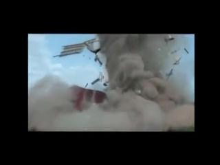 Взрыв дома террористов.