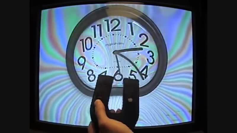Магнитное отклонение изображения на ТВ с ЭЛТ, MIT Physics Demo, Magnetic Deflection of a TV Image