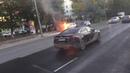 В Томске напротив Ленты загорелся автомобиль
