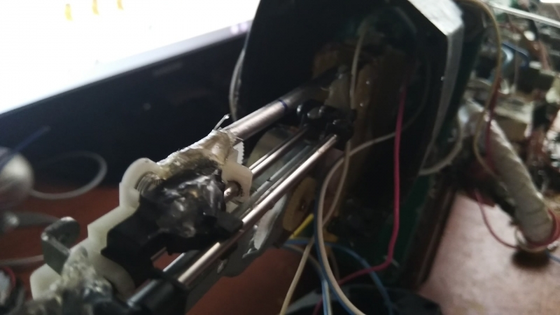 приклад Гаусс пушки с автоматическим досылатилем снаряда