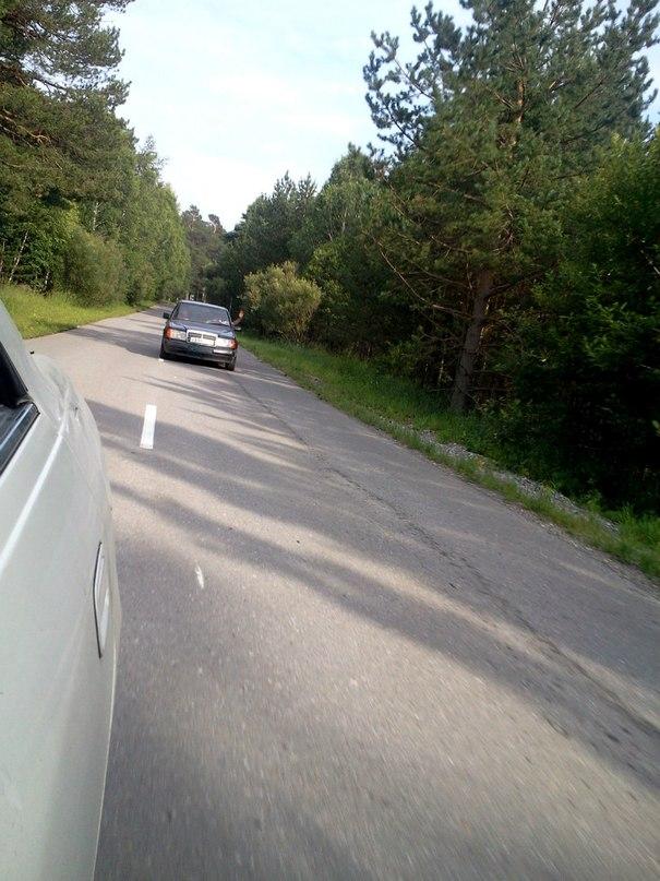 По пути на озеро Белое