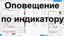Как создать оповещение по индикатору = tradingview wtw long short stochastik williams