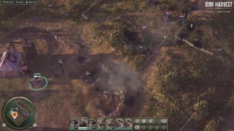 Iron Harvest GAMEPLAY _ 20 Minuten der Alpha gespielt