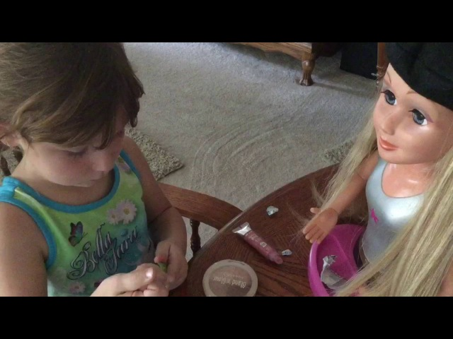 🙋ASMR🎈6YEAR OLD GIRL RORI ROLEPLAY WITH BARBIE/MAKEUP/For Kids And Adults