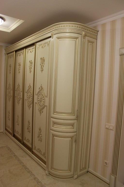 Встроенные шкафы-купе на заказ в алексино.