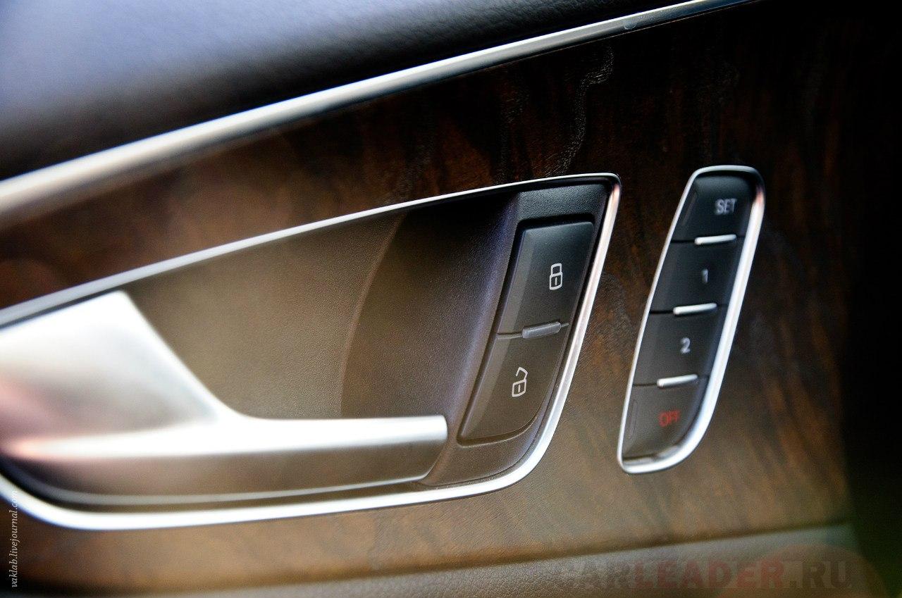 Audi A7 door handles
