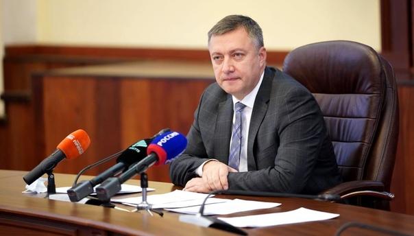 Пресс-конференция Губернатора Иркутской области Игоря Кобзева