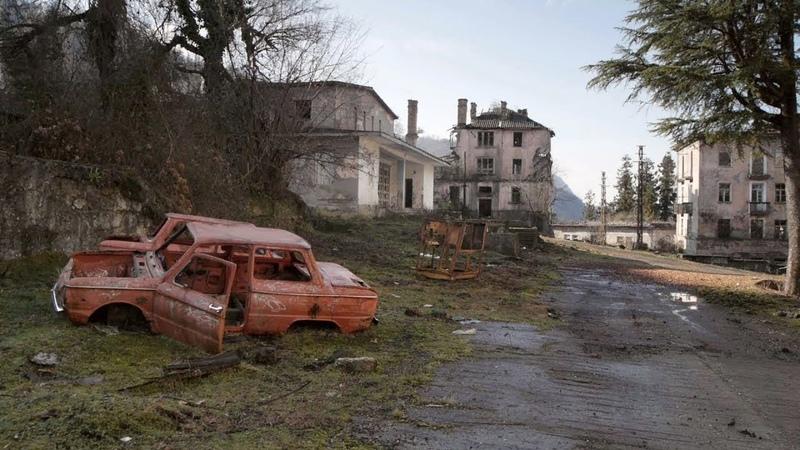 Шахтерские посёлки-призраки Mining ghost towns in Abkhazia