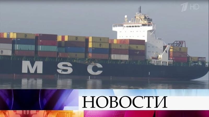 У берегов африканского государства Бенин пираты напали на судно.