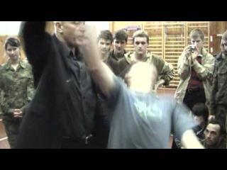 Русский рукопашный бой - Открытый урок для школы Кадочникова