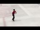 A piece of the new LP run-through - Cr. 花滑小报weibo Figure skating News - BoyangJin ボーヤン 金博洋