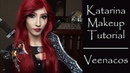 Katarina Makeup Tutorial League of Legends Cosplay Veenacos