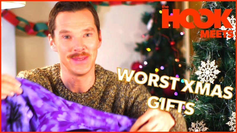Benedict Cumberbatch Teaches How to React to Bad Xmas Gifts   The Hook