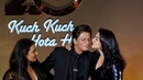Kajol and Rani KISS Shahrukh khan😘😍 SRK GRAND ENTRY Kuch Kuch Hota Hai 20 Years Celebration