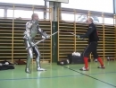техника боя на мечахчасть 4