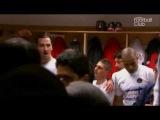 Tension entre Zlatan Ibrahimovic et Leonardo le soir du titre - OL vs PSG - 2013 05 12