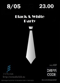 BLACK & WHITE PARTY // ESTRADA CLUB