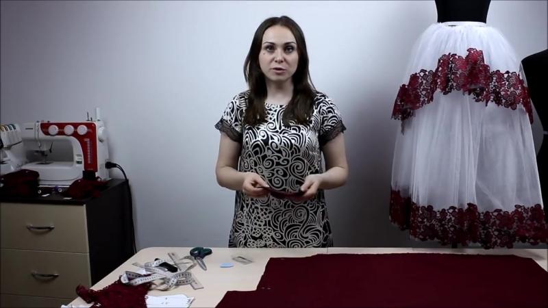Детское Платье с пышной фатиновой Юбкой и Кружевным лифом с открытой спинкой ч2