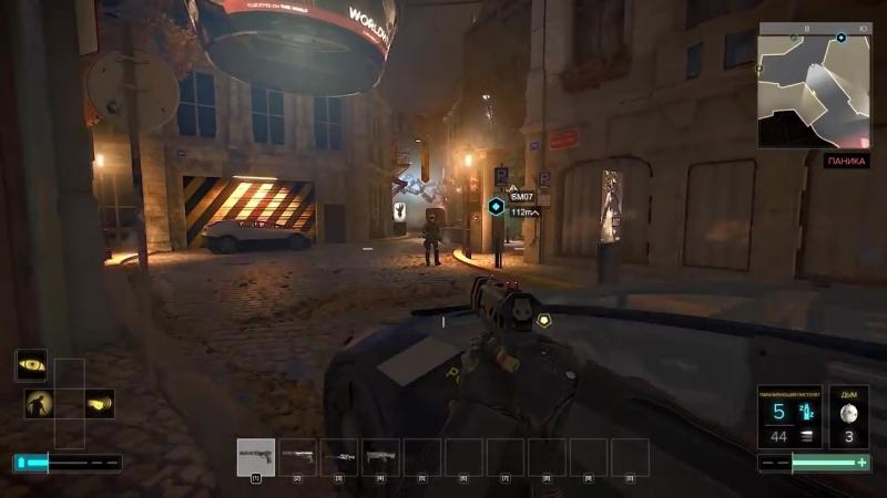 Deus Ex_ Mankind Divided Баги, Приколы, Фейлы