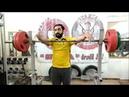 Тренировка № 17. Спортсмен-сыроед приседает 100 кг на 15 раз ! Слабо 14.11.2018/Ateks Motivator