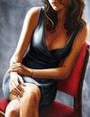 Бесподобные женские образы от современного французского художника Анник Буваттье(