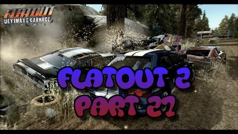 FlatOut 2 (PC) Walkthrough Part 27 Street Sprint Cup [No Commentary] (720 HD)