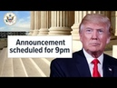 What's going into Trump's final decision on Supreme Court nominee