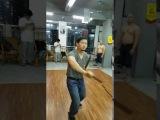 古劳咏春拳演十二式化出来的刀法//八桥手刀的副本