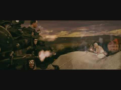 Отрывок из финальной сцены фильма Скалолазка и Последний из седьмой колыбели