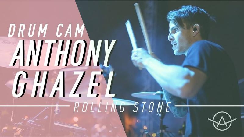 Anthony Ghazel | Falling In Reverse | Rolling Stone | Drum Cam