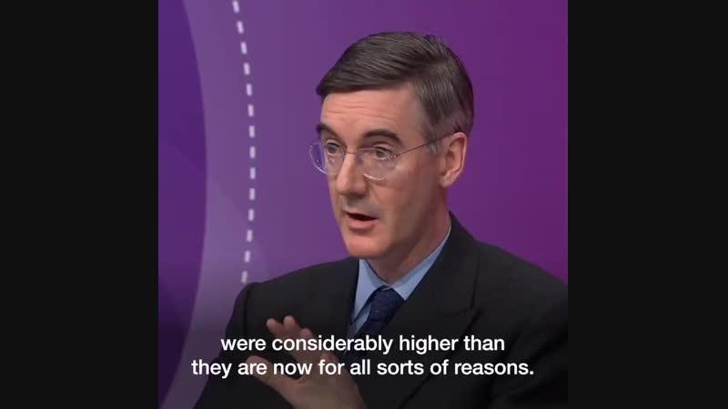 Современный, лакированный фашизм. Британский политик-консерватор Джейкоб Рис-Могг - Людей угоняли в концлагеря рад