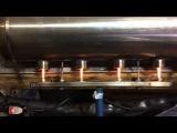 Макет теплообменника для водородного котла отопления.