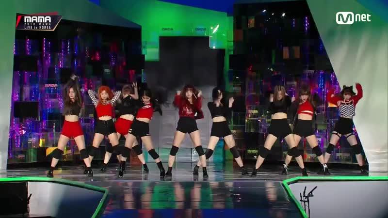 [2018 MAMA PREMIERE in KOREA] NATURE(네이처)GWSN(공원소녀)_OUTRO DANCE