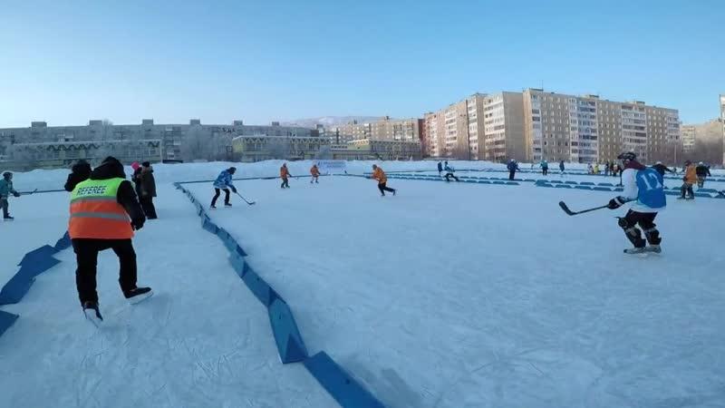 Турнир Ледовая битва 2018 (Pond hockey, понд-хоккей, уличный хоккей)
