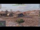 Wot Blitz* Пробою новый танк в бою 1