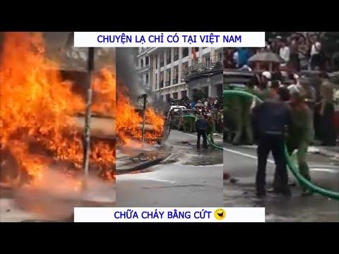 Chuyện lạ có thật tại Việt Nam : Chữa cháy bằng Phốt