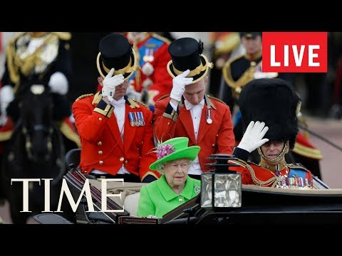 Trooping The Colour Parade To Mark The Queen's Official Birthday Other Celebrations | LIVE | TIME