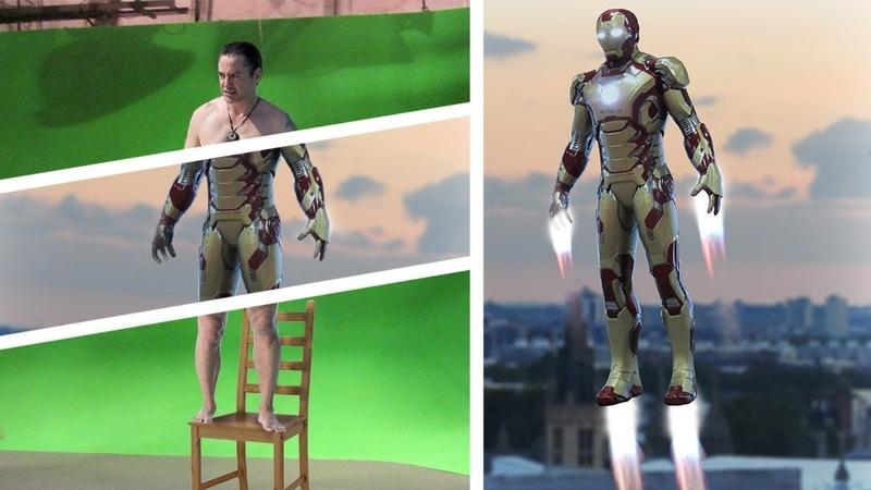 Así se vería IRON MAN sin efectos especiales