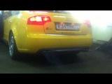 Audi B7 S4 Custom Exhaust (downpipes)