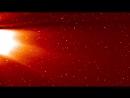 Остатки кометы C2017 S3 (PANSTARRS) в поле зрения инструмента STEREO SECCHI HI1-A