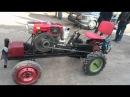 Міні-трактор з мотоблока Zubr 15к.с. з гідравлікою