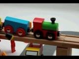 Деревянные паровозики Roys Woody