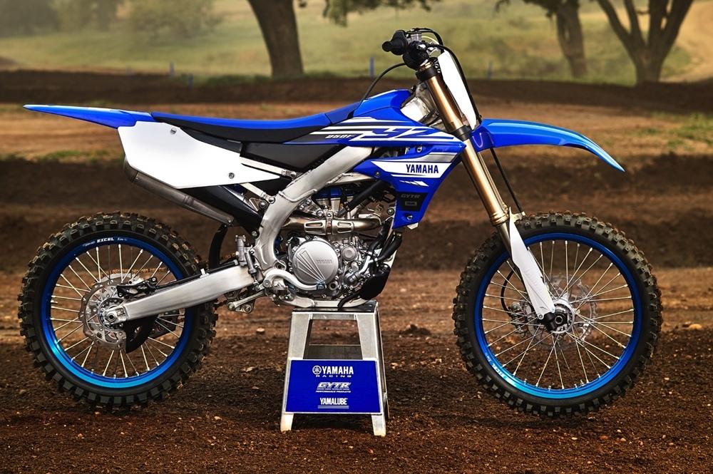 Новый кроссбайк Yamaha YZ250F 2019